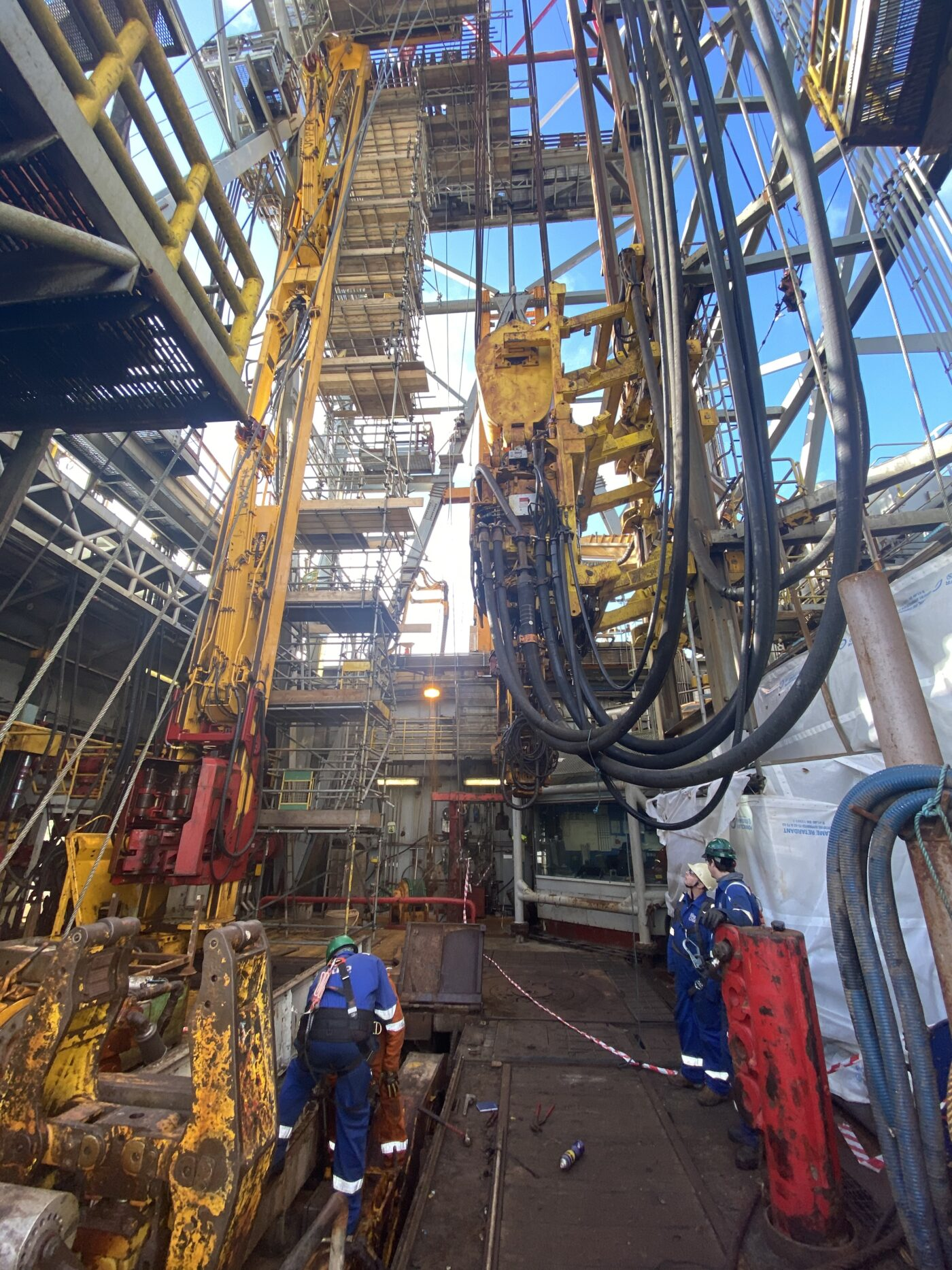 Complete rig package inspection
