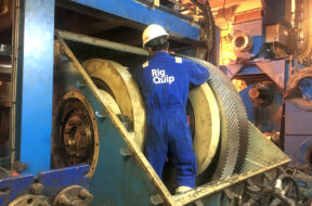 Drilling package installation and major maintenance